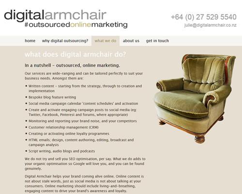 Digital Armchair 3
