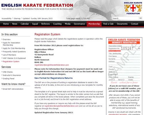 English Karate Federation