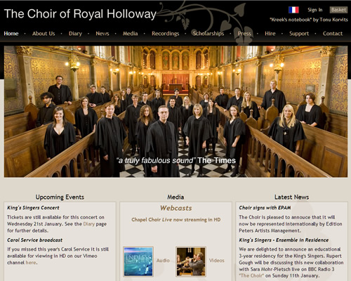 The Choir of the Royal Holloway