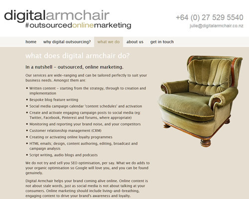 Digital Armchair 3