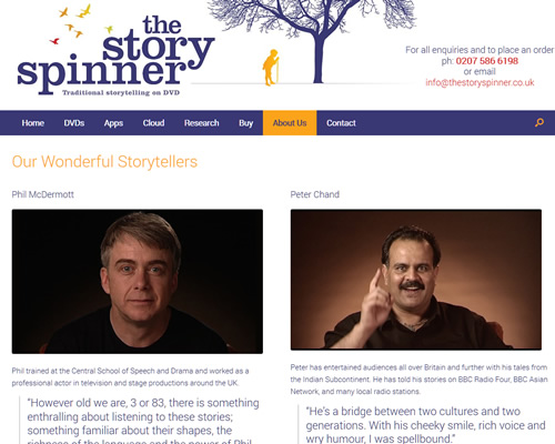The Story Spinner